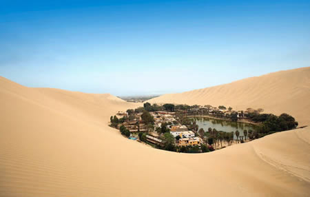 huacachina oasis My top 20 things I want to do/see in South America